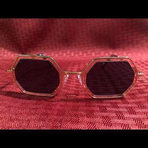Chloe Sunglasses Gold Color CE146S